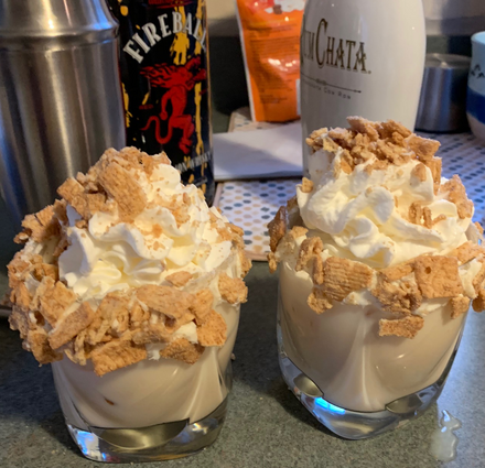 Rumchata Cinnamon Toast Crunch Boozy Holiday Treats