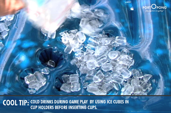 Ice your beer pong cups down