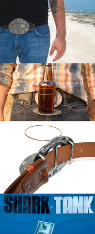 The Beer Buckle (Antique Silver)