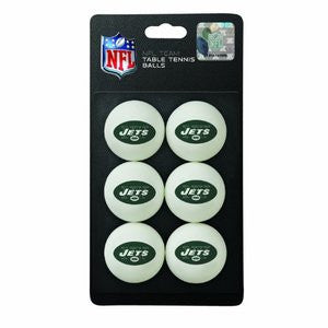 NFL New York Jets Pong Balls (6 Pack)