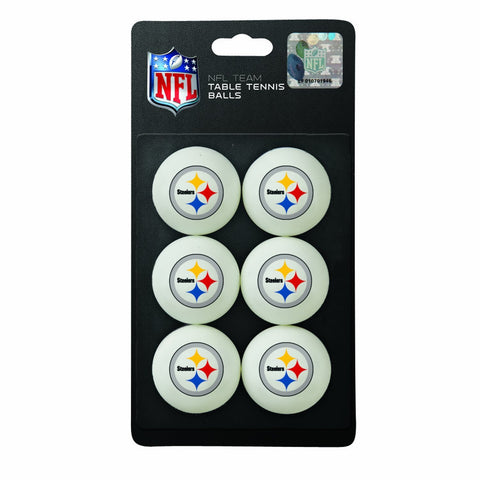 NFL Pittsburgh Steelers Ping Pong Balls (6 Pack)