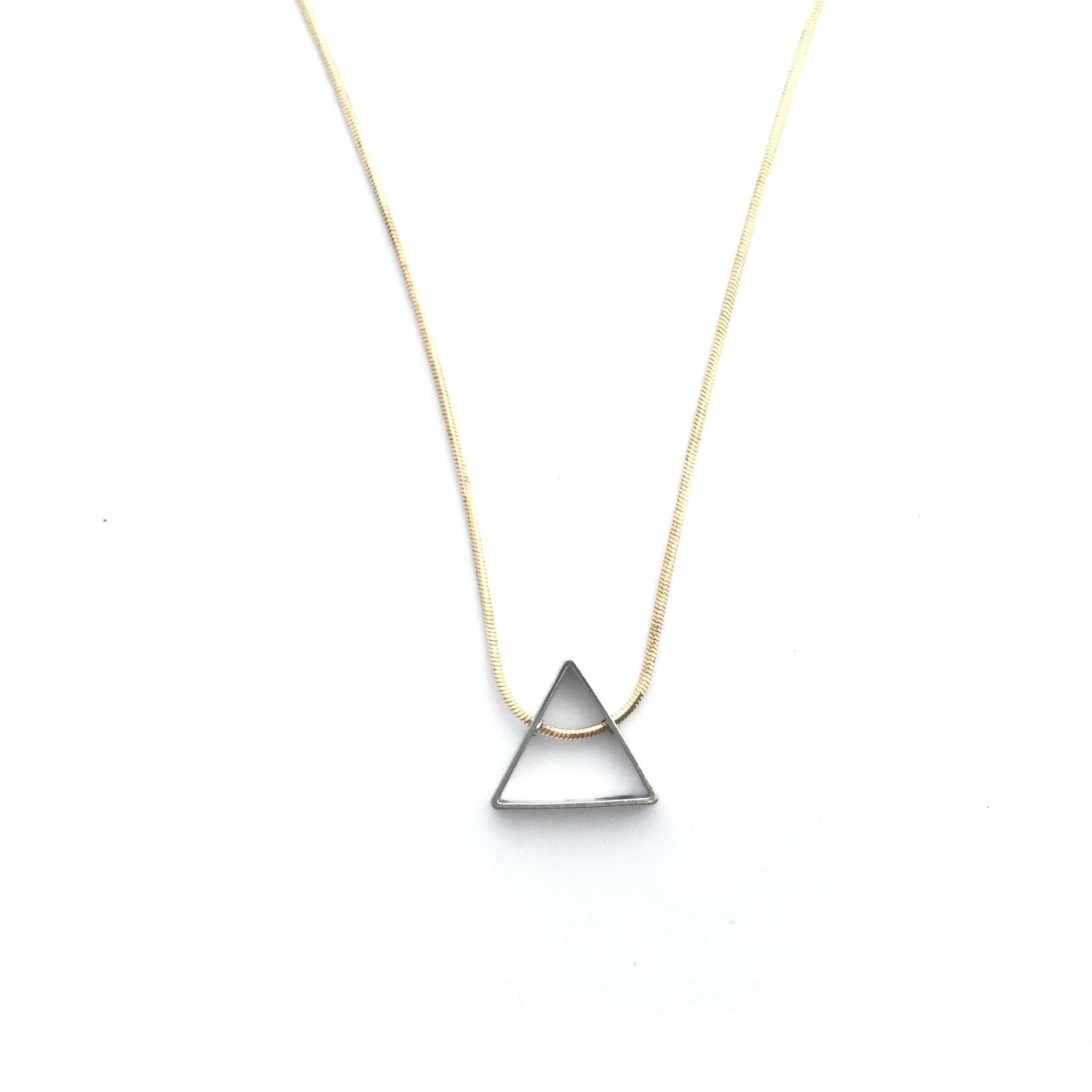 Rebekah Vinyard Jewelry - Simply Tri Necklace