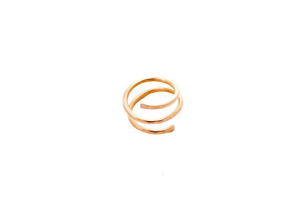 Rebekah Vinyard Jewelry - Midi Wrapped Ring (14k gold-fill)
