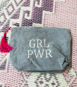 GIRL POWER canvas bag