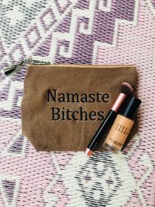 Namaste Bitches Canvas Bag