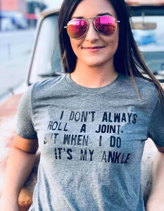 Roll A Joint Tee