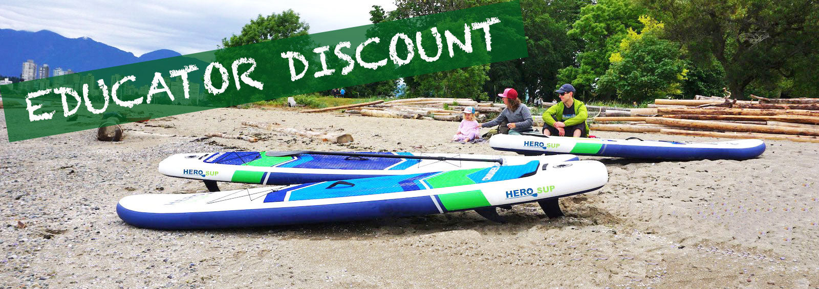 Hero SUP Educator Discount