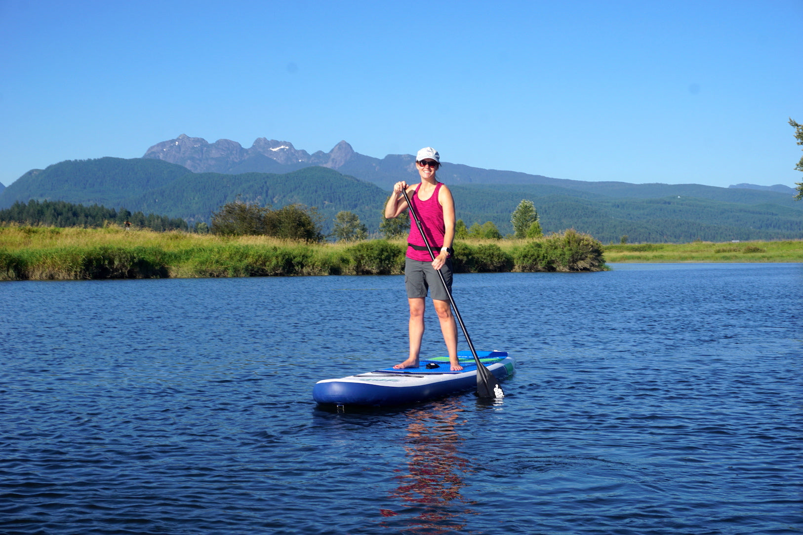 Hero SUP paddle boarding for wellness