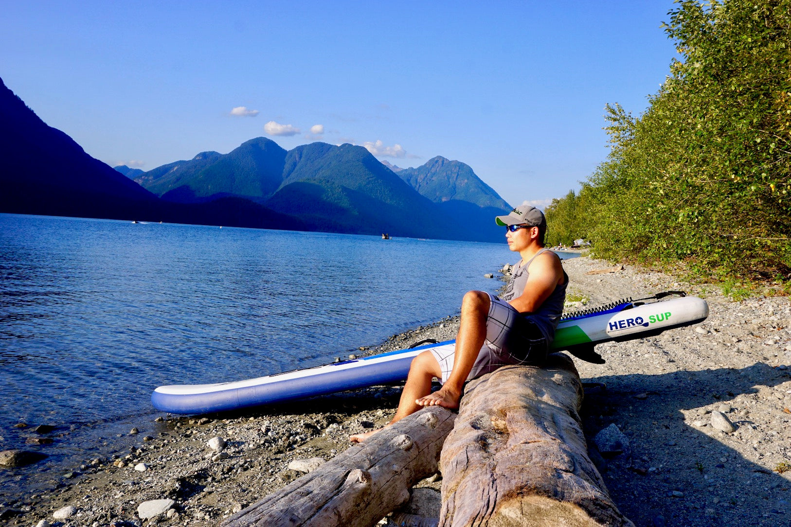 Hero SUP stand up paddle board paddle boarding for mental health