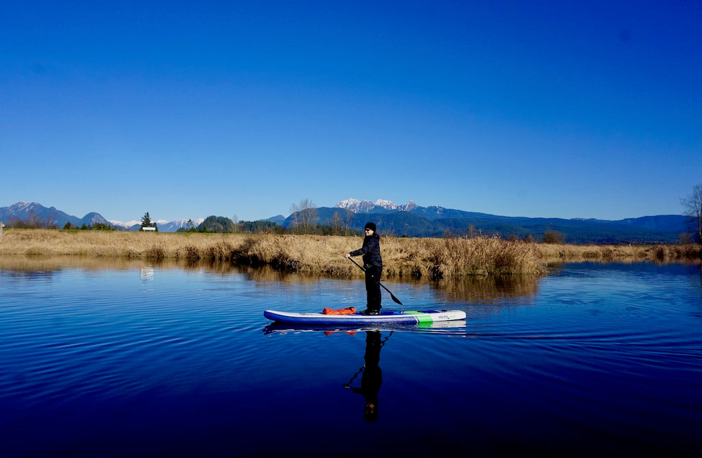 winter paddle boarding tips Hero SUP