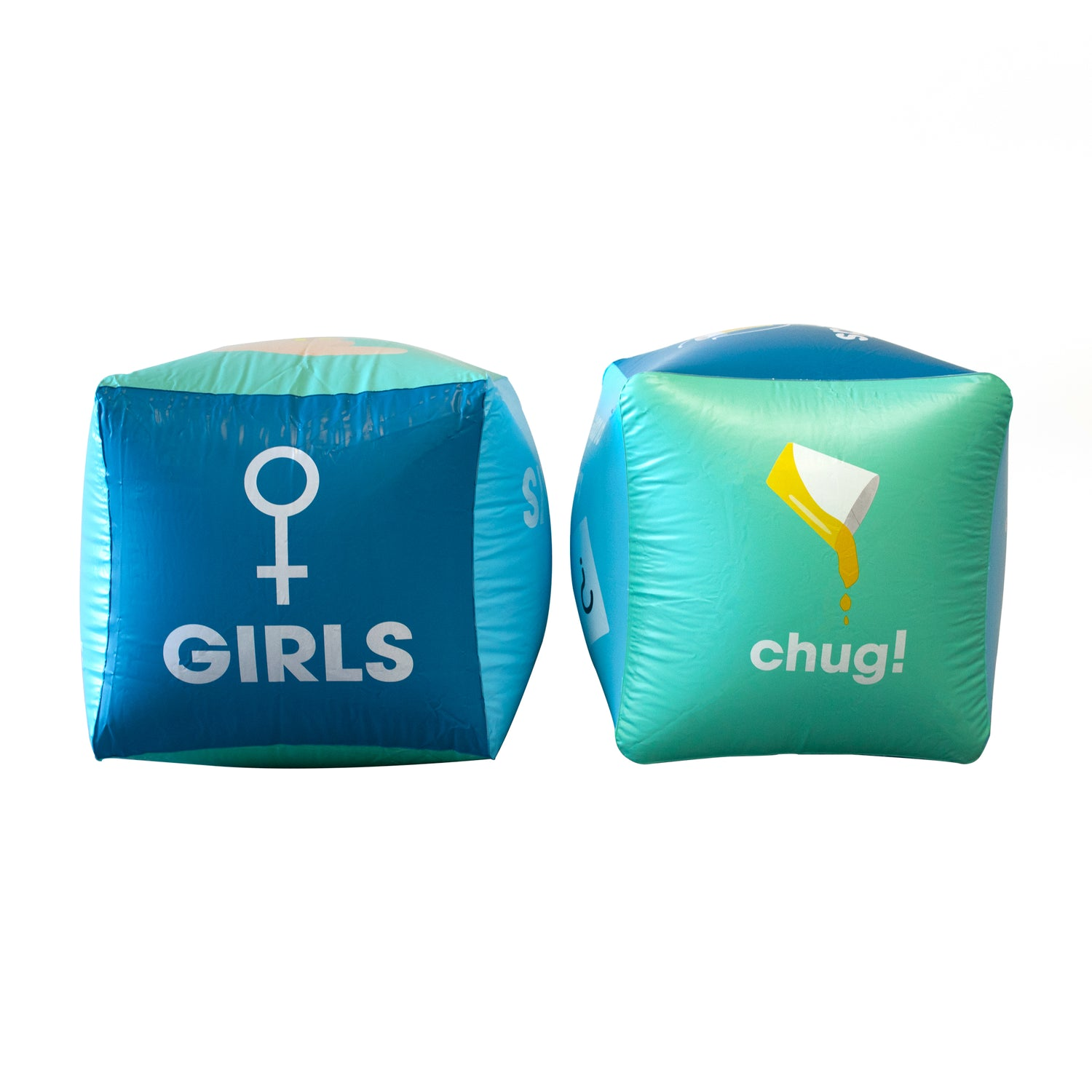 Drinking Buddies Inflatable Drinking Dice