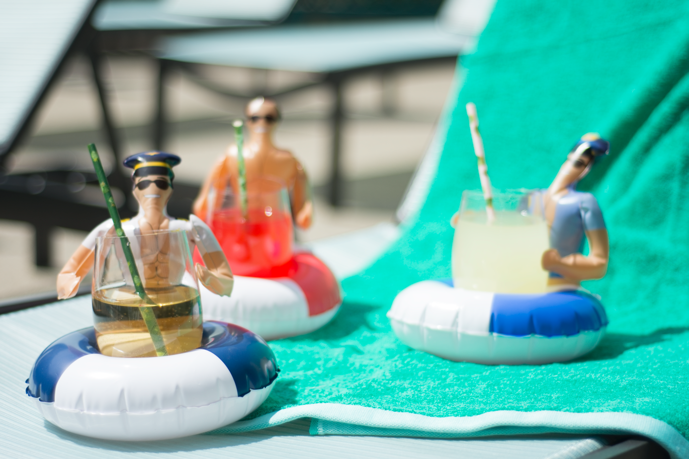 Drinking Buddies Inflatable Drink Holders