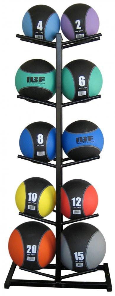 Ultimate Fitness Med Ball Rack