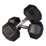 Ultimate Rubber Hex Dumbbells
