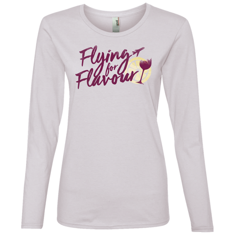 FFF Logo Anvil Ladies' Lightweight LS T-Shirt