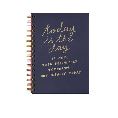 Notes To Self 'Today Is The Day' Notebook