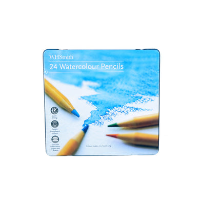 WHSmith Watercolour Pencils (Set Of 24)