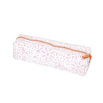 WHSmith Floral Pink Rectangular Pencil Case