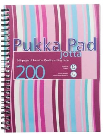 Pukka Pad Waves Assorted Colour A5 Wide Ruled Notebook