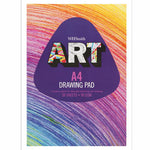WHSmith Art A4 White Sketch Pad 50 Sheets