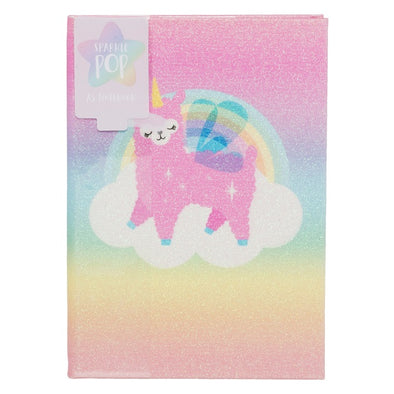 POP LAMACORN  NOTETBOOK A5