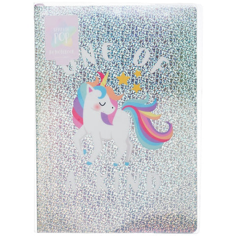 POP UNICORN HOLO NOTETOOBK A4