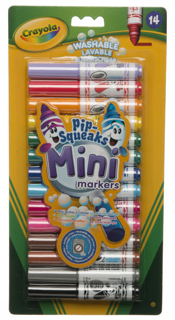 Crayola Pipsqueaks Mini Markers (Pack of 14)