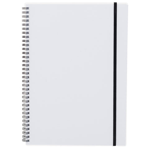 WHSmith White Polypro A4 Notebook