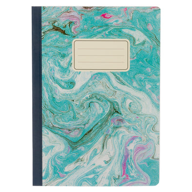 WHSmith Pastel Marble Effect A5 Notebook