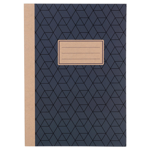 WHSmith Grey Geometric A4 Exercise Book