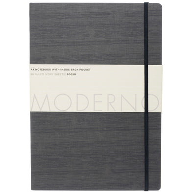 Moderno Grey A4 Notebook