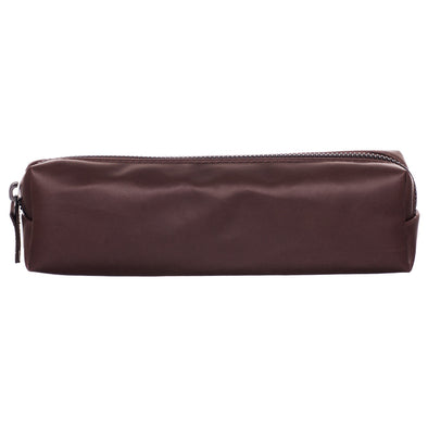 WHSmith Moderno Chocolate Brown Rectangular Pencil Case