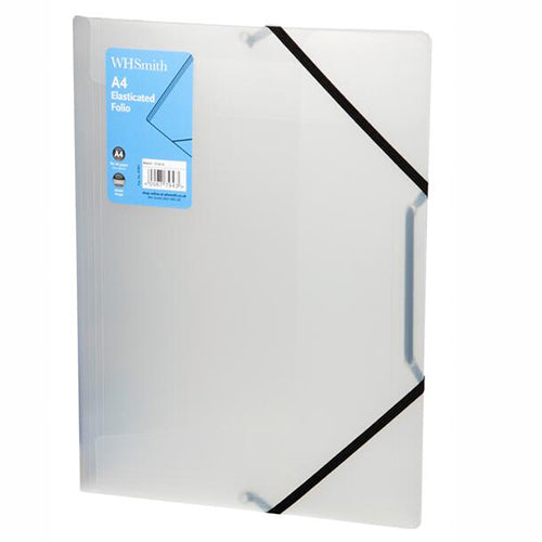 WHSmith Clear A4 Polypro Folio