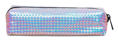 WHSmith Holographic Embossed Rectangular Pencil Case