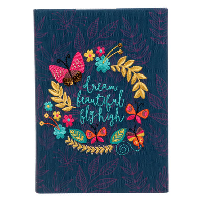 WHSmith Butterfly Embellished A5 Journal