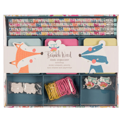Desk Organiser Stationery Set