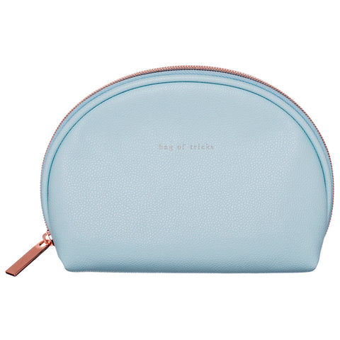 Pale Blue Cosmetic Bag