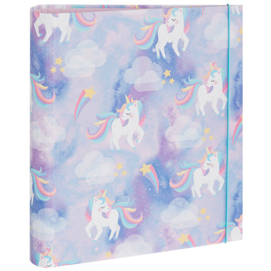 Sparkle Pop Unicorn Rollbound A4 Board Ringbinder