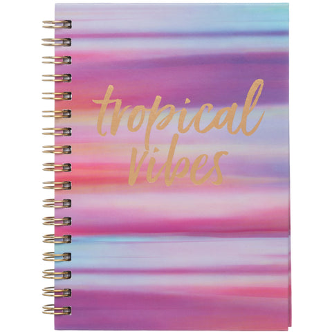 Pastel Stripes Wiro A6 Notebook