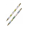 Mechanical Pen and Pencil Set with Gold Trim