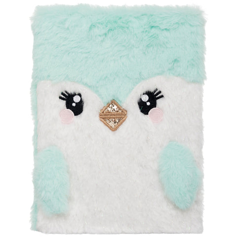 WHSmith Penguin Plush A5 Notebook Journal