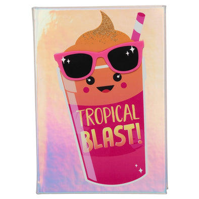 WHSmith Tropical Blast Peach Scented A5 Notebook Journal