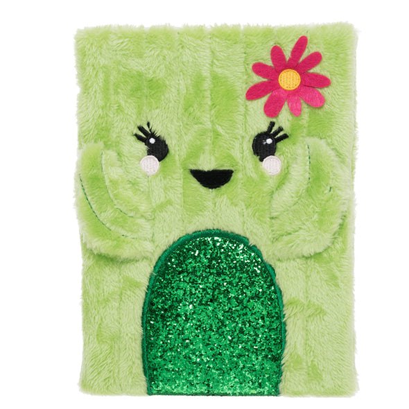 WHSmith Cactus Plush A5 Notebook Journal