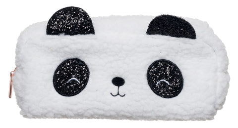 WHSmith Panda Plush Pencil Case