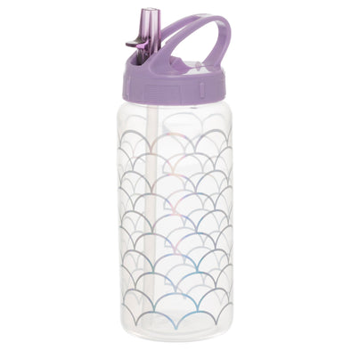 WHSmith Sparkle Pop Mermaid's Tail 500ml Water Bottle