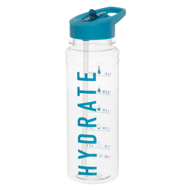 WHSmith 700ml Water Schedule Bottle Assorted Colours