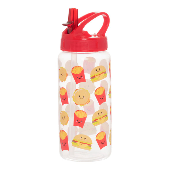 WHSmith Fast Food 500ml Water Bottle