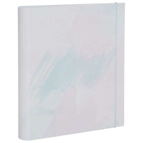 Watercolour Rollbound Ringbinder