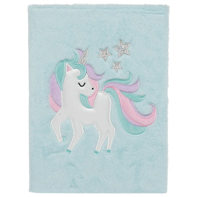 Fluffy Unicorn A4 Notebook