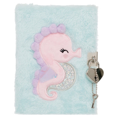 A6 Seahorse Lockable Notebook